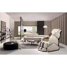 furniture chairs living room. Beige Faux Leather Reclining Massage Chair Furniture Chairs Living Room S