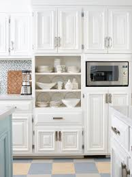 Paint Color For Small Kitchen Kitchen Cabinets How To Paint Cabinets White With A Glaze Perfect