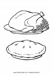 Small Picture Turkey Dinner Coloring Pages Coloring Coloring Pages