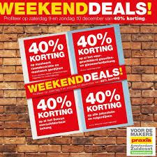 Weekenddeals Alleen Vandaag En Morgen Praxis Amsterdam