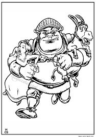 Small Picture Shrek coloring pages 32 Magic Color Book