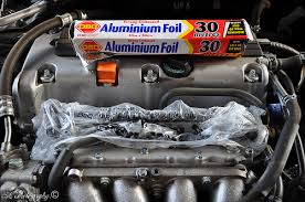 #3: Apply degreaser all over your engine, make sure you empty the  motherfucker (sorry no pics with degreaser on engine - I got too excited)