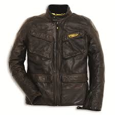 ducati scrambler leather jacket