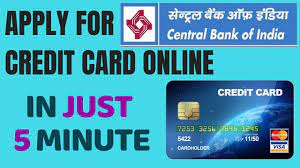 Cst will be posted on the next business day. Central Bank Of India Credit Card Apply Apply Central Bank Of India Credit Card Online Youtube