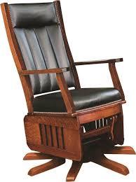 glider rocker swivel chairs. amish leola mission swivel glider rocking chair rocker chairs