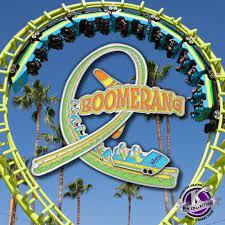 Knott's Boomerang roller coaster opened ...