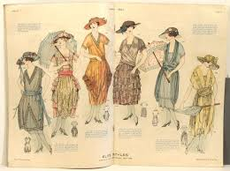1920s Fashion Elite Styles 1921 05 May