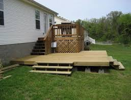 building a floating deck do it yourself
