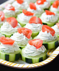 Easy finger food for a teenager's birthday party. Graduation Party Appetizers You Can Eat In One Bite Real Simple