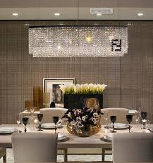 modern novelty f mark crystal chandeliers for dining room crystal led rectangular curve chandelier crystal penntes