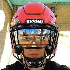 mirror visor football. clear mirror oakley football eye shield visor e