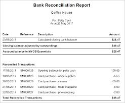 Petty Cash Reimbursement Petty Cash Myob Essentials Accounting Myob Help Centre