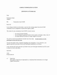 Sample Dismissal Letter Sample Termination Of Employment Letter Capriartfilmfestival