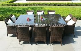 interior design ideas concerning outdoor rattan furniture suppliers and wicker patio dining table with glass top