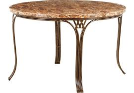 amazing round metal dining table within alegra tables ideas 5