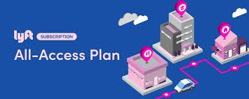 lyft all access plan graphic