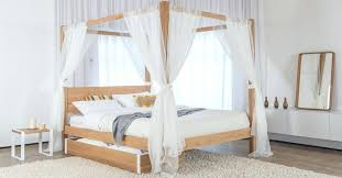 Modern 4 Poster Bed Frame Four Classic Get Laid King Canopy Size ...