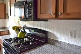 beadboard ceilings installation and pros and cons. Beadboard Backsplash Liz Marie Blog Behind Stove Installatio Full Size Ceilings Installation And Pros Cons