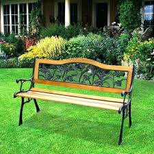garden bench lowes. Lowes Garden Benches Small Size Of People Wrought Iron Outdoor Vintage Bench Black Patio Furniture Treasures
