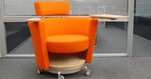 orange office furniture. modern office furniture design ideas hello mobile lounge seat by lynda chesser and bill schacht orange
