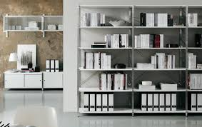 white office bookcase. Alluring Office Shelving Units On White Contemporary Furniture White Office Bookcase H