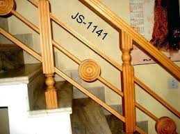 stair wood railing designer wooden railings in area 2 and iron