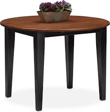 dining room furniture nantucket drop leaf table black and cherry