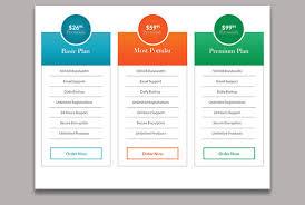 Chart Design Images Design A Psd Pricing Table Comparison Table Chart Diagram