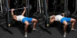 Smith Machine Bench Press  Weight Training Exercises 4 YouSmith Bench Press Bar Weight