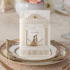 online buy wholesale wedding invitations from china wedding Wedding Invitations Dubai Mall fashion wedding invitation cards,gold foiling frame church style wedding invitations suppliers, 50sets Underwater Hotel Dubai