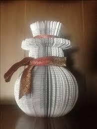 book page snowman laurie hanson book folding patterns freebook craftscraft