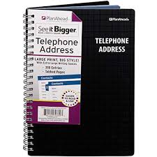 Address Telephone Book Address Phone Book Amazon Com