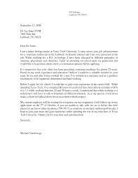 Cover Letter Biology Cover Letters Biology Cover Letter Format