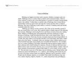 standing up to bullying essays research proposal paper writers standing up to bullying essays