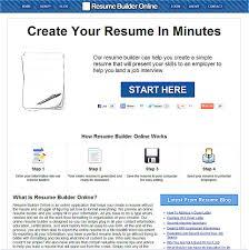 Resume Maker Builder Ozmxrcb Luxury Photoshots Outline Help
