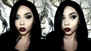 glamorous morticia addams cosplay wedding makeup con friendly makeup