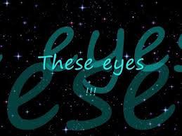 「these eyes lyrics」の画像検索結果
