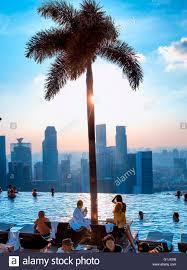 infinity pool singapore hotel. Infinity Pool At Marina Bay Sands Hotel, Singapore Hotel