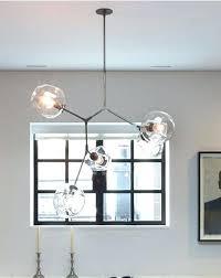 globe branching bubble chandelier modern with light plan diy jean pelle