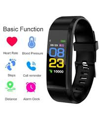 Atina Id115 Fitness Band Exercise Tracker Smartwatch Suitable
