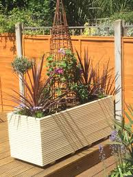 distressed wooden planter boxes wooden barrel planter wooden planters