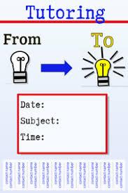 tutor flyer templates free free tutoring template flyer