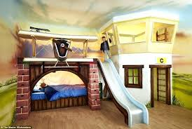 Kids Bunk Bed With Slide Photo 4 Of Kids Bunk With Children Bunk ...