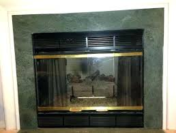 gas fireplace cover up ideas front
