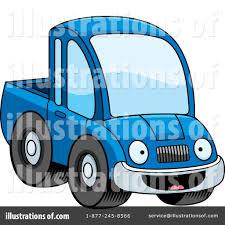 Pickup Truck Clipart #1216760 - Illustration by Cory Thoman