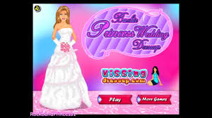barbie dress up games for s and kids barbie princess wedding dressup game you