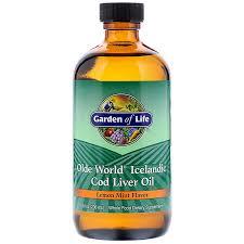 garden of life olde world icelandic cod liver oil lemon mint flavor 8