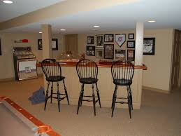 Finished Basement Basement Remodeling Home Theater Home Renovation - Simple basement bars