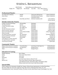Acting Resume Template Free Download - http://www.resumecareer.info/