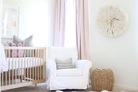 pink and gold nursery with pink cotton ds